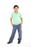 Studio Shot Of Chinese Boy Stock Images