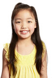 Studio Shot Of Chinese Girl Stock Images