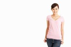 Studio Shot Of Chinese Woman Stock Photo