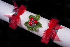 Traditional Christmas Cracker Stock Images