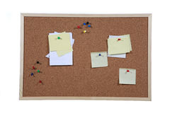 Studio shot of cork board Royalty Free Stock Images
