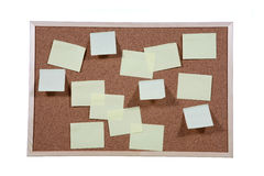 Studio shot of cork board Stock Photo