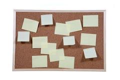 Studio shot of cork board Stock Photo