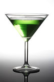 Studio shot of drink in martini glass Stock Photography