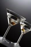 Studio shot of drink in martini glass Royalty Free Stock Photo