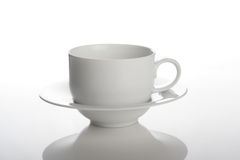 Studio shot of empty cup Royalty Free Stock Photo