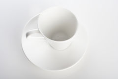 Studio shot of empty cup Stock Photo