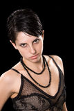 Studio shot of fashion model Royalty Free Stock Photography