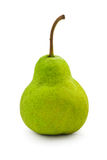 Studio shot of fresh green natural pear Royalty Free Stock Images