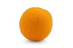 Studio shot of fresh natural orange. Isolated on white Royalty Free Stock Image