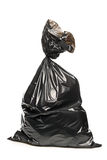 A studio shot of a garbage bag Royalty Free Stock Photos