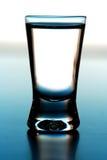 Studio shot of glass with vodka Stock Photo