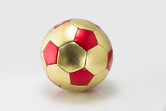 Golden football Royalty Free Stock Images