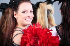 Group Of Cheerleaders Royalty Free Stock Photo