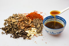 Studio shot of herbal Stock Photo