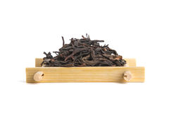 Studio shot of Honey Orchid Oolong on bamboo serving tray Stock Photography