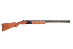 A studio shot of a hunting shotgun Stock Photo