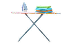 Studio shot of an ironing board Stock Images