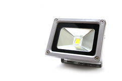 Studio shot of LED Flood Light Royalty Free Stock Image