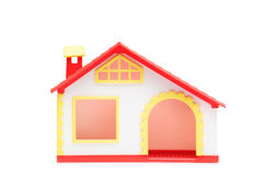 A studio shot of a miniature house Stock Photo