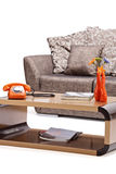 Studio shot of a modern furniture Stock Photography