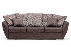 Studio shot of a modern sofa Royalty Free Stock Photos