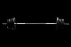 Free Studio Shot Of A Barbell Royalty Free Stock Photography - 41830897