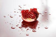 Studio shot of pomegranate. Royalty Free Stock Photography