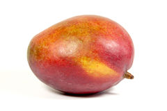 Studio Shot Of Ripe Colorful Tropical Mango Royalty Free Stock Image