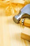 Carpentry composition Stock Photos