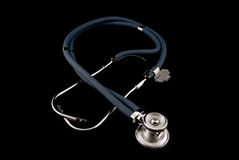 Studio shot of stethoscope Royalty Free Stock Images