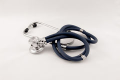 Studio shot of stethoscope Royalty Free Stock Photography