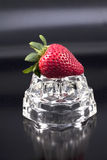 Studio shot of a strawberry. Stock Image