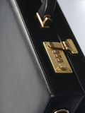 Studio shot of suit case  -close-up Royalty Free Stock Photo
