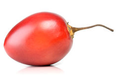 Studio shot of tamarillo fruit Royalty Free Stock Photography