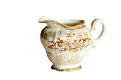 Free Studio Shot Vintage Porcelain Milk Jug On White Royalty Free Stock Photo - 36807005