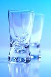 Studio shot of vodka glasses Royalty Free Stock Image