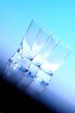 Studio shot of vodka glasses Royalty Free Stock Photos