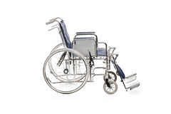 Studio shot of a wheelchair Royalty Free Stock Images