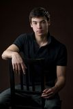 Studio shot of a young man Royalty Free Stock Photo