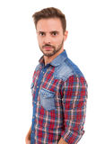 Studio shot of a young man Royalty Free Stock Photography