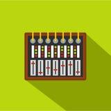 Studio sound mixer icon, flat style Royalty Free Stock Photography