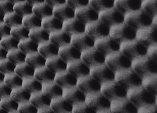 Studio sound proof foam Royalty Free Stock Photos