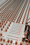 Studio soundboard Stock Fotografie
