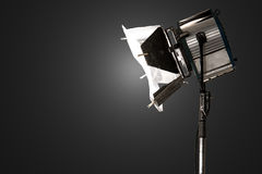 Studio spot light Royalty Free Stock Image
