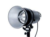 Studio spotlight. Isolated on white background Stock Image