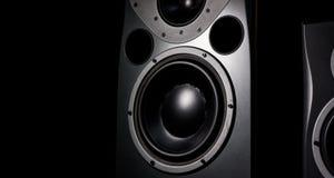 Studio-Sprecher Stockfoto