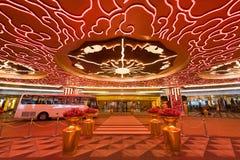 Studio-Stadthotel und -kasino nehmen in Macao Zuflucht Stockbild