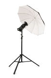 Studio strobe isolated Stock Images