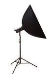 Studio strobe isolated Stock Photos